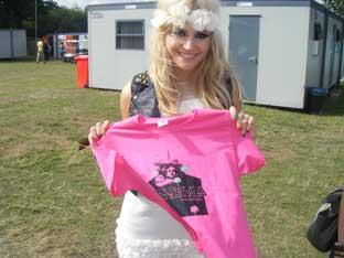 Pixie Lott is a supporter of the Picture Palace Campaign