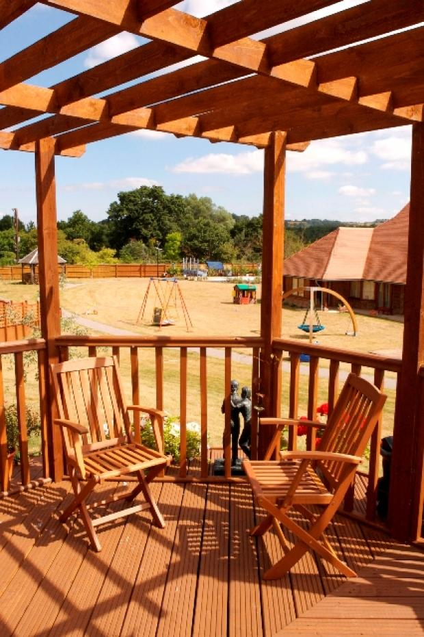 Christopher's, the CHASE children's hospice, where families can take a break together
