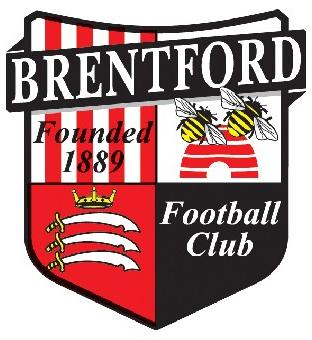 Croydon Guardian: Football Team Logo for Brentford