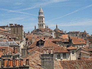 The delightful town of Perigueux