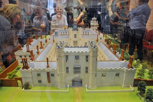 Model of Henry VIII's Palace on display at Nonsuch Palace Gallery