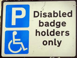 Blue badge fraudster who claimed to be picking up disabled nephew fined