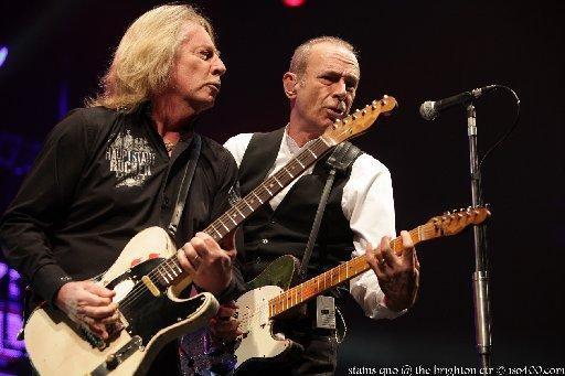 Croydon Guardian: Status Quo at the Brighton Centre credit Mike Burnell