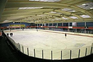 Streatham Ice Arena, where the violence flared