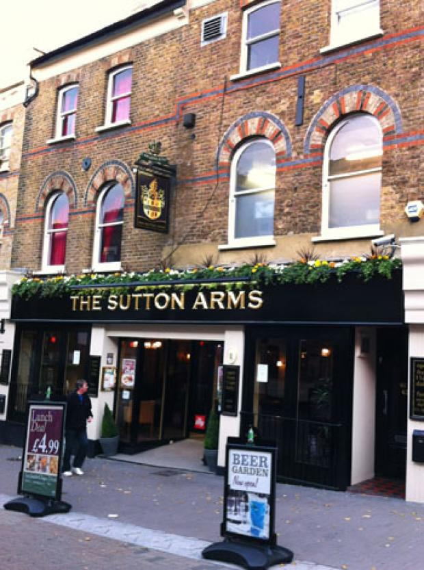 PUBSPY: Sutton Arms, Sutton