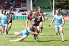 Ready: Jamie O'Cllaghan in action for Harlequins RL - now London Broncos - last season