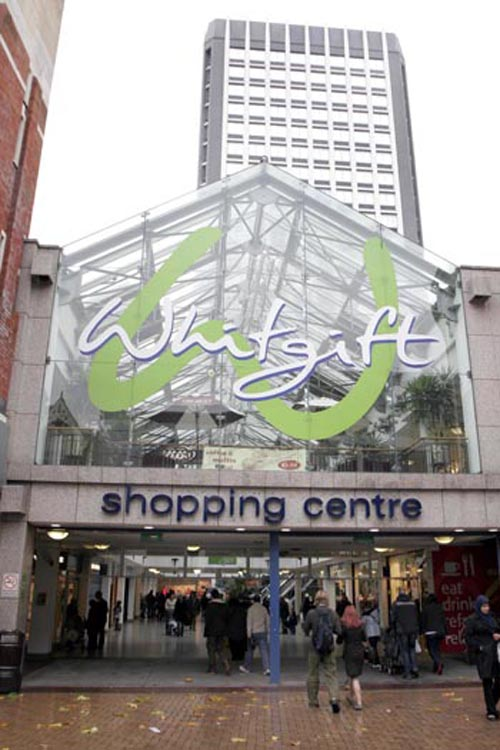 Centrale owners Hammerson selected to redevelop Whigift Centre