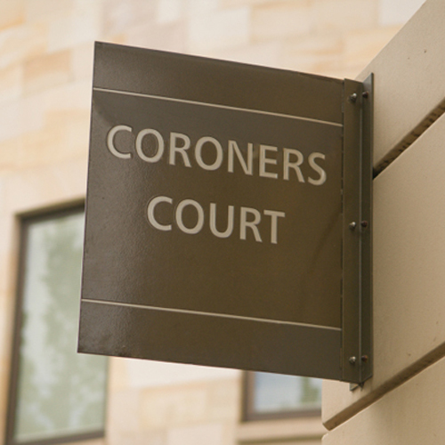 The inquest into Elaine Davenport's death was held at Croydon Coroner's Court
