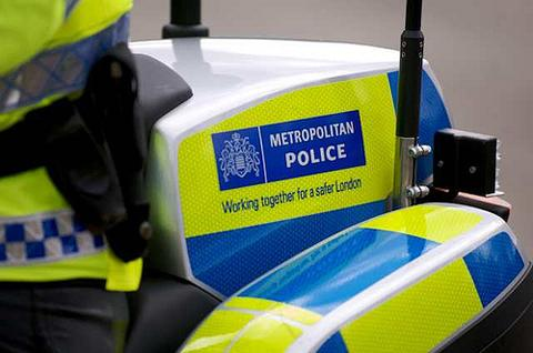 Metropolitan Police officers arrested four teenagers