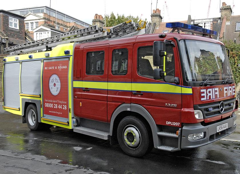 Fifteen firefighters attended the house fire in Thornton Heath