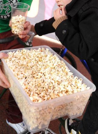 Popcorn sales explode to new highs