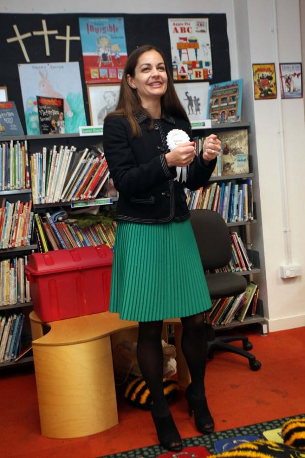 Siobhan Benita at Upper Norwood Library