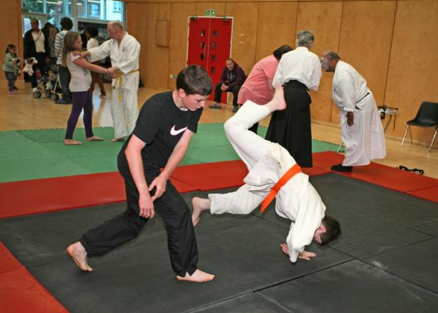 Martial arts at the Addiscombe youth club
