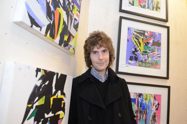 Graffiti artist steals the show at new picture gallery