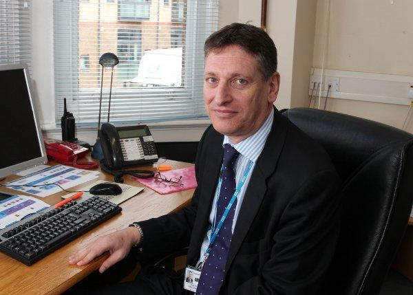 John Goulston has been made permanent CEO of Croydon University Hospital