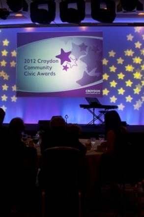 The awards ceremony honoured Croydon heroes