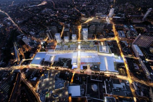 Westfield have submitted plans to redevelop the Whitgift Centre