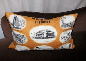 The Croydon cushion is available to buy on eBay