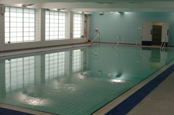 A temporary swimming pool has opened at Virgo Fidelis in Upper Norwood