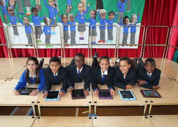 Heavers Farm Primary School, South Norwood, has bought 60 iPads