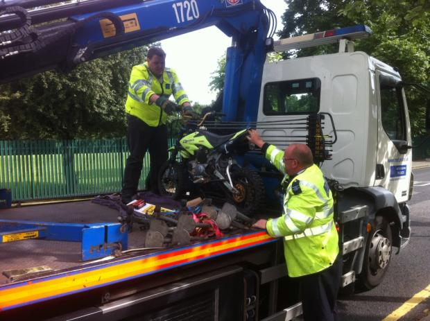 Police seize mini-moto after Selhurst incident