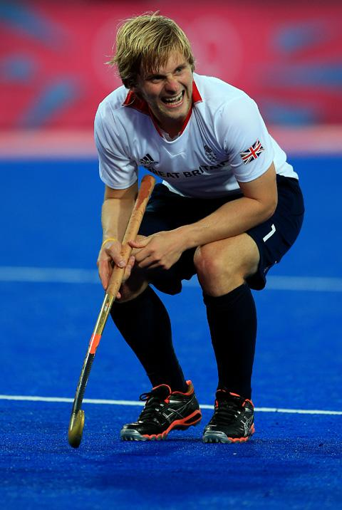 Great Britain's Ashley Jackson sits dejected after conceding a goal