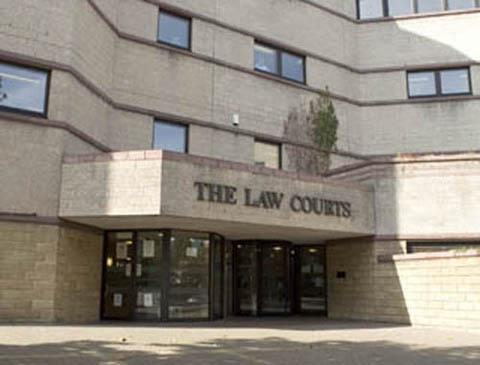 Croydon Guardian: Croydon Crown Court has been affected by the walkout