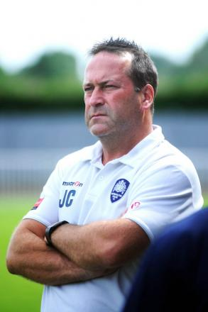 Unhappy: Met Police boss Jim Cooper wants more from his strikers in front of goal