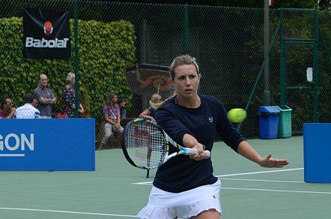 Anna Fitzpatrick: winner of the female singles title