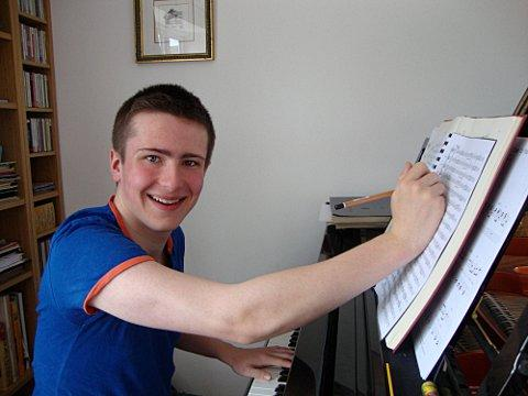Teenager Freddie Meyers wins young composer of the year