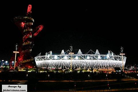 The Olympic Stadium in Stratford (Credit - Michael Smith www.pictureinme.com)