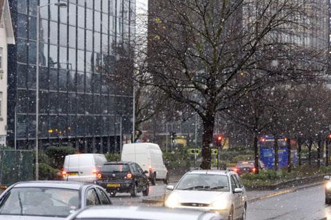 A pedestrian crossing on Barclay Road by Croydon Magistrates Court will be upgraded to a toucan crossing
