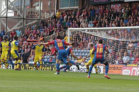 It's there: Glenn Murray scores for Palace on Saturday 	SP68680