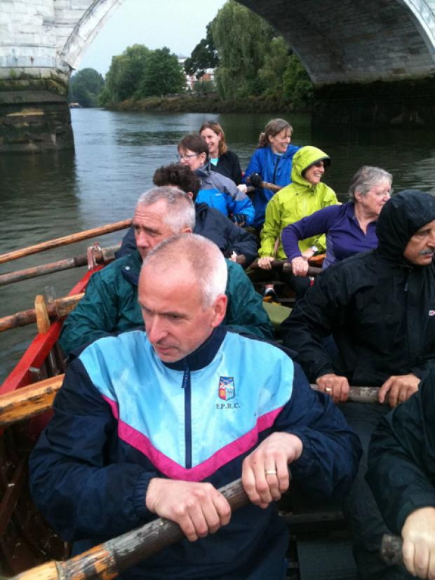 Magistrates take to the water for the Great River Race