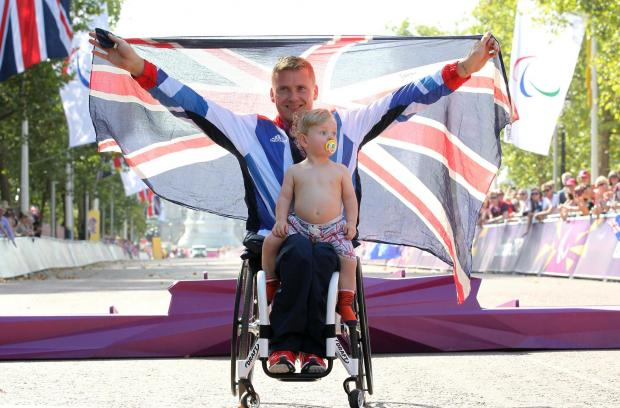 Croydon Guardian: Incredible David Weir makes it four out of four Paralympic gold medals
