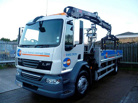 18 tonne stolen truck recovered