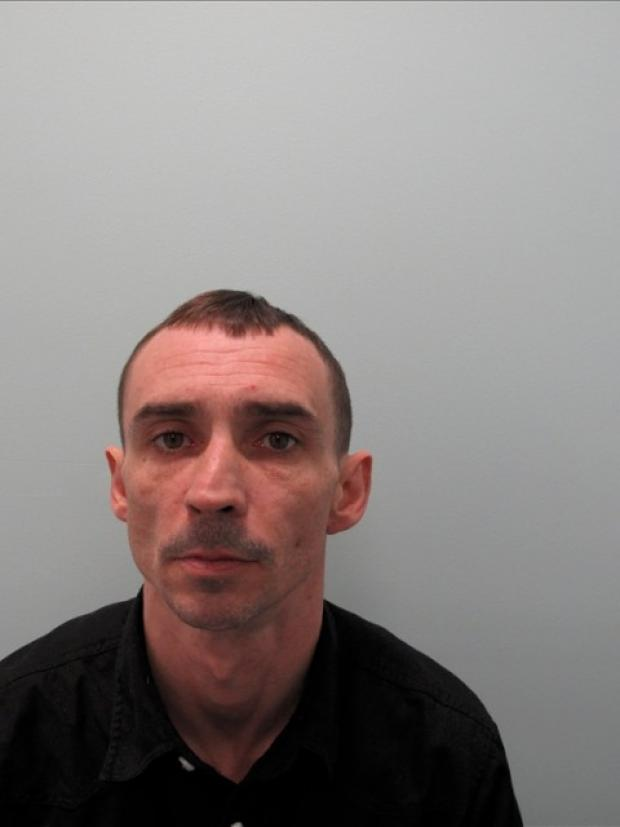 Christopher Flanagan was jailed after burgling a Croydon home