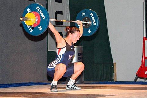 Weightlifting champion Joanne Calvino is nominated as Croydon Champion
