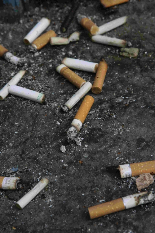 The majority of fines will be for discarded cigarette butts