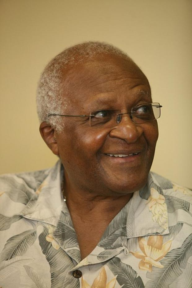 Archbishiop Desmond Tutu due in Croydon