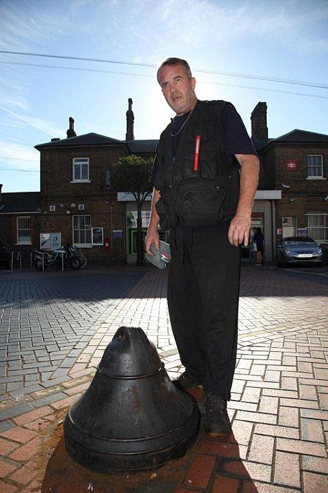 Richard Hough, says the bollard has caused nothing but problems