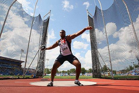 Eye on Rio: Lawrence Okoye has committed his future to reaching Rio 2016 and winning discus gold