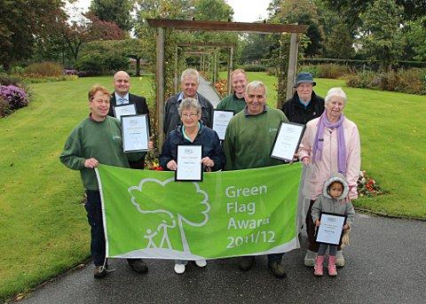 Winners of this year's competition at Haling Grove Park