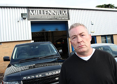 Travellers could force car garage owner to move his business
