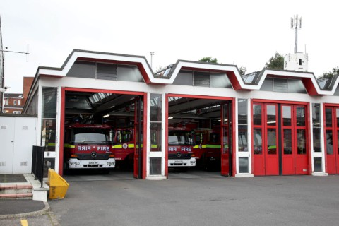 Firefighters at Croydon fire station are among those to have been sent the letter