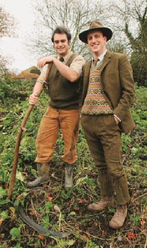 Alex Langlands and Peter Ginn of Wartime Farm are coming to Croydon
