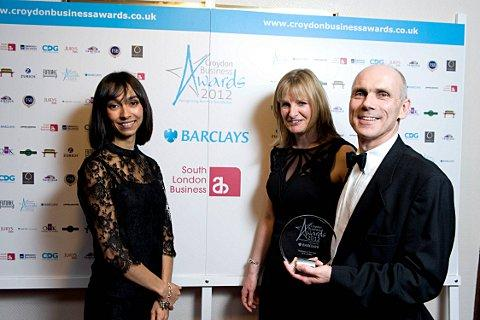 SLE Ltd, manufacturers of life-saving neonatal ventilators, won business of the year at the 2012 awards