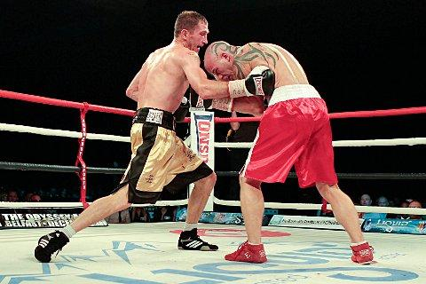 Desperate: Lenny Daws is chomping at the bit to get back in the ring to fight for the vacant European Super Lightweight title     Pictures: Gary Brind