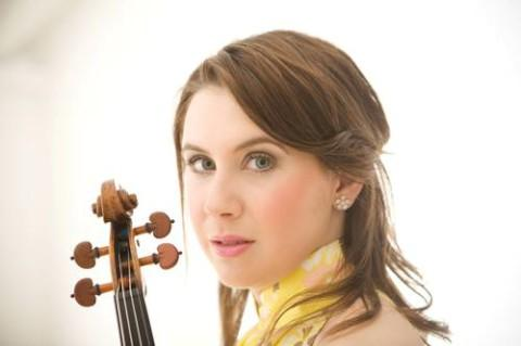 Chloe Hanslip will play at Fairfield Halls 50th anniversary concert