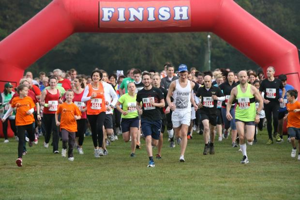 The Big Fun Run sets off at Crystal Palace Park